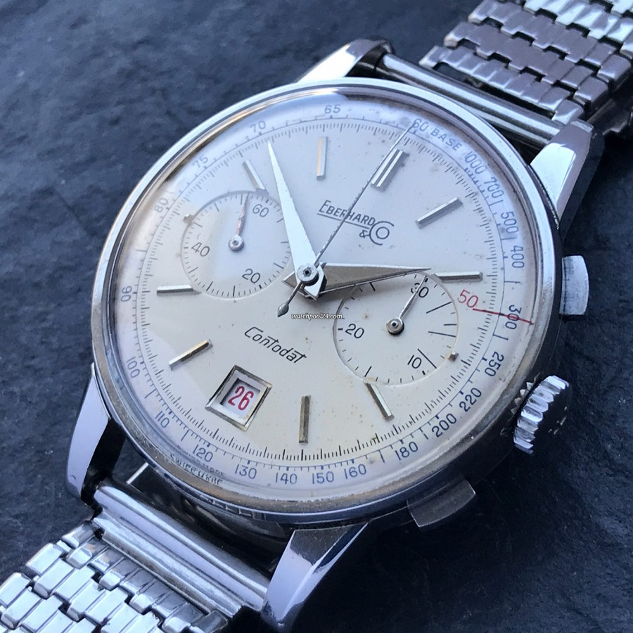 Eberhard Contodat 14900 - a vintage chronograph with a timeless and elegant design