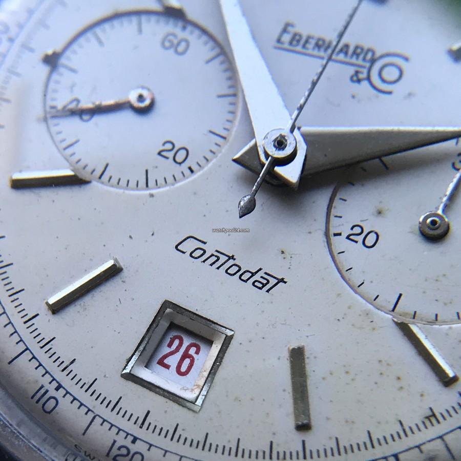 Eberhard Contodat 14900 - Roulette Datumsscheibe