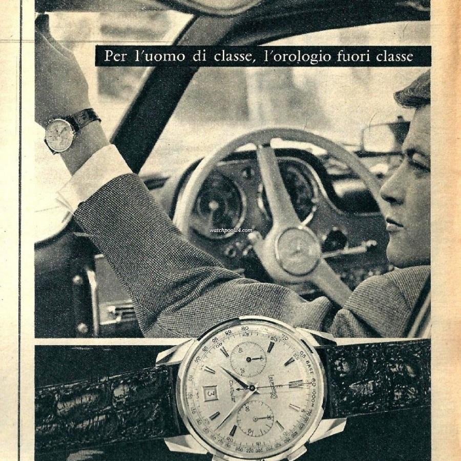 Eberhard Contodat 14900 - Auszug aus einem italienischen Eberhard-Katalog aus den 1960er Jahren
