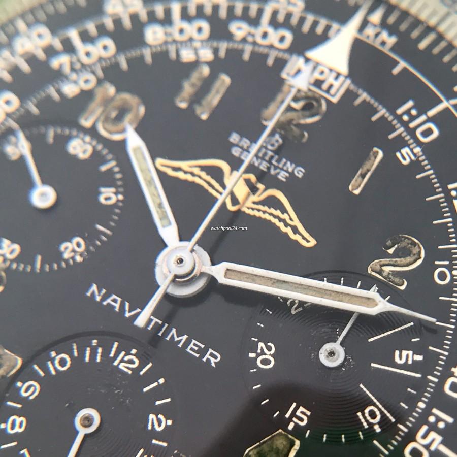 Breitling Navitimer 806 All Black - AOPA-Emblem bei 12 Uhr