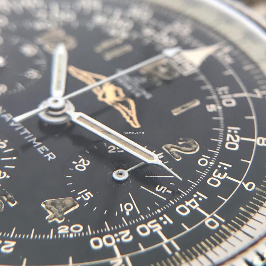 Breitling Navitimer 806 All Black - 65 Jahre altes Zifferblatt