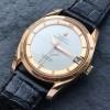 Universal Genève Polerouter Date 104503-2 Rotgold - attraktive Vintage-Uhr aus den 1950er Jahren in bemerkenswertem Zustand