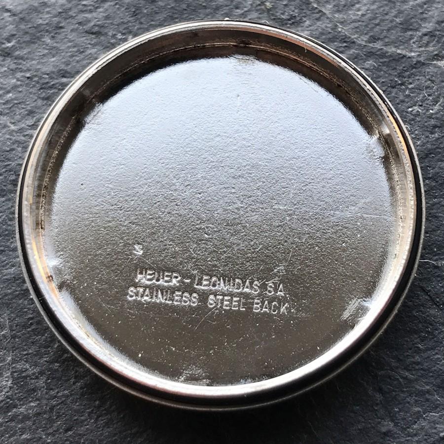 Heuer Monza 150.501 PVD - signierter Gehäusedeckel