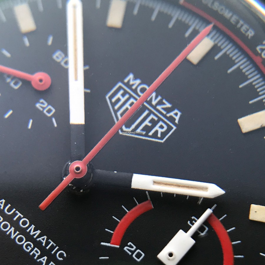 Heuer Monza 150.501 PVD - the perfect race driver's tool