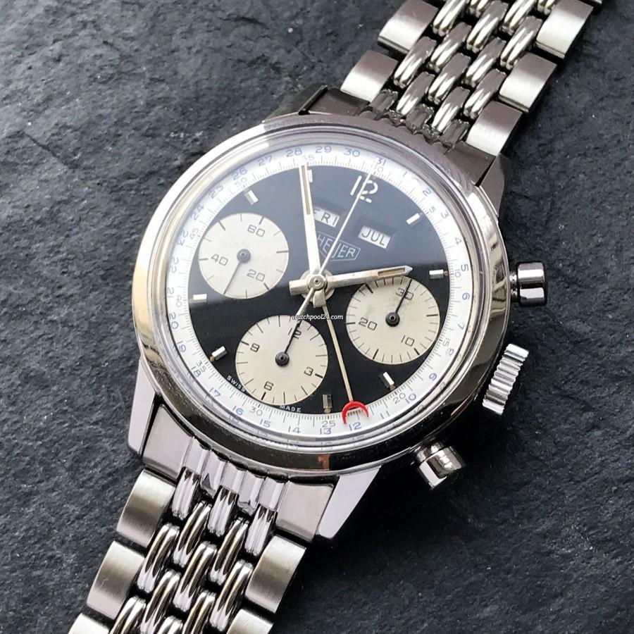 Heuer Carrera 2547 N Full History Documentation - exzellentes Design und ein kompliziertes Uhrwerk