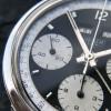 Heuer Carrera 2547 N Full History Documentation - perfect matt black surface