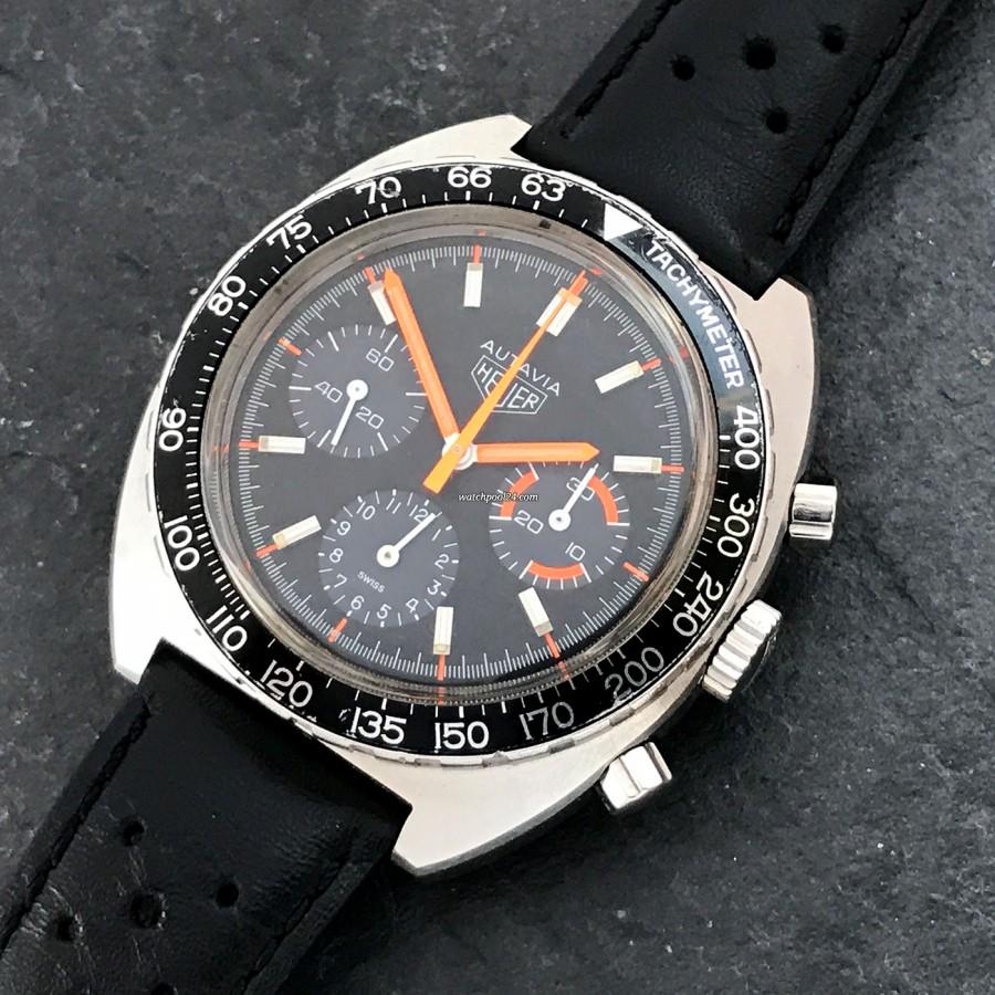 Heuer Autavia 73663 Villeneuve - ein cooler Racing Chronograph