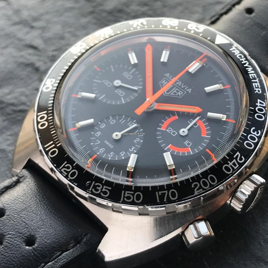Heuer Autavia 73663 Villeneuve - great overall condition