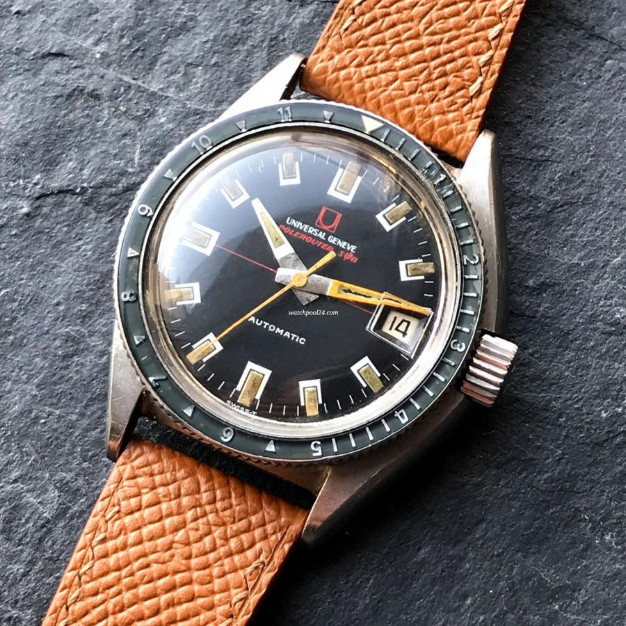 Universal Genève Polerouter Sub 869123/02 - Vintage diver's watch from the 60s