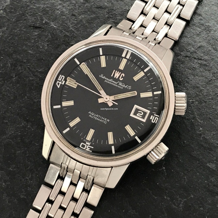 IWC Aquatimer 812 AD - first diver watch by IWC from 1968