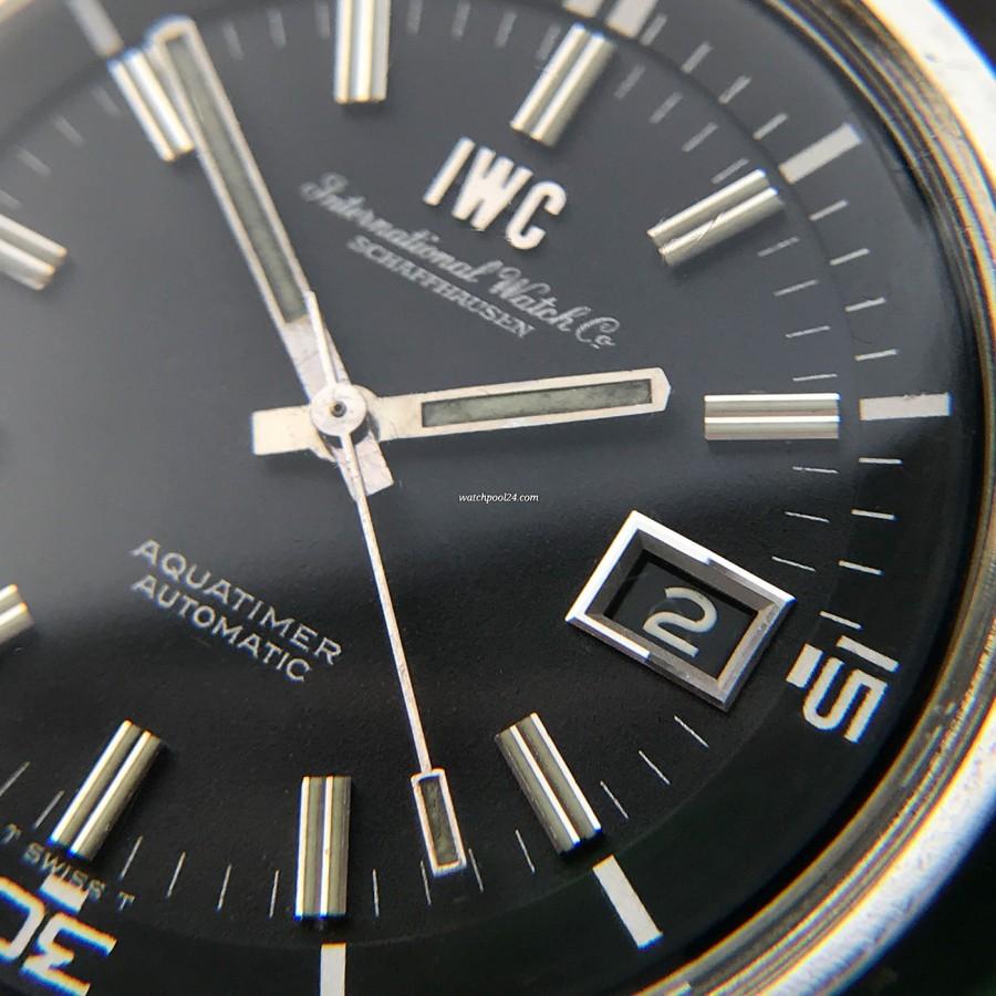 IWC Aquatimer 812 AD - Datumsfenster bei 3 Uhr
