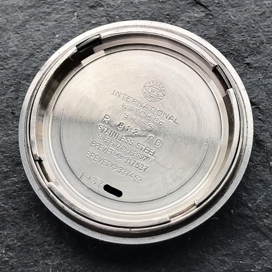 IWC Aquatimer 812 AD - signed inside the case back
