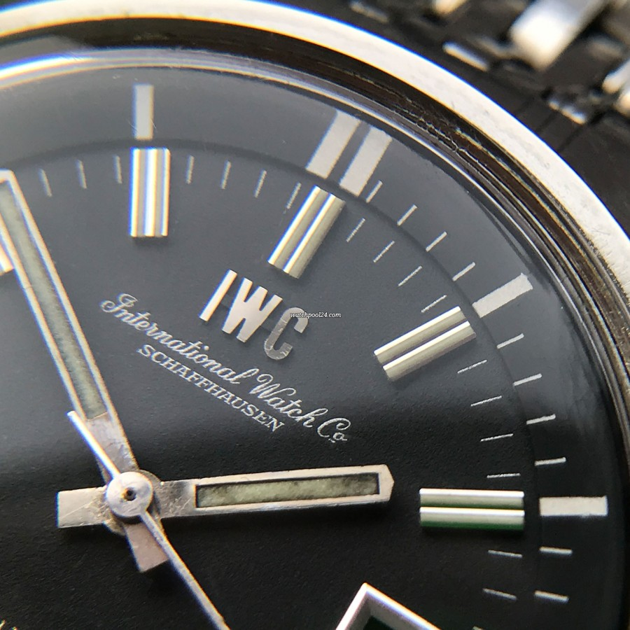 IWC Aquatimer 812 AD - beautifully aged lume in the hands