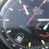 Heuer Monza 150.501 Black PVD - date window at 6 o'clock