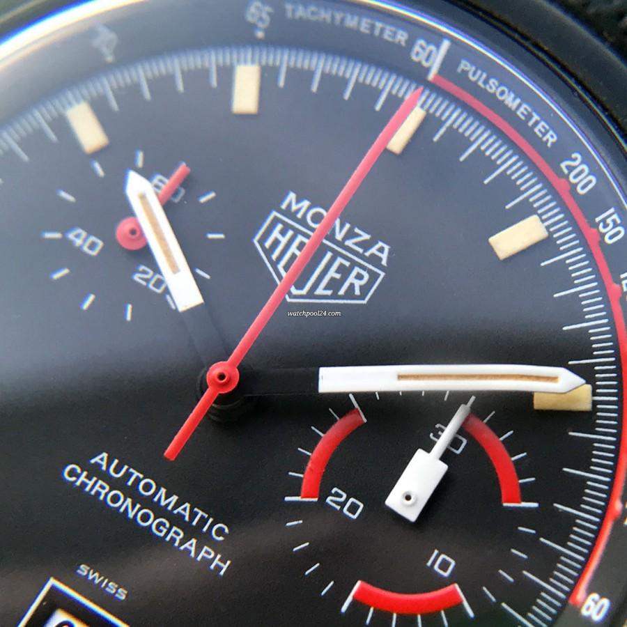 Heuer Monza 150.501 Black PVD - a cool racing chrono