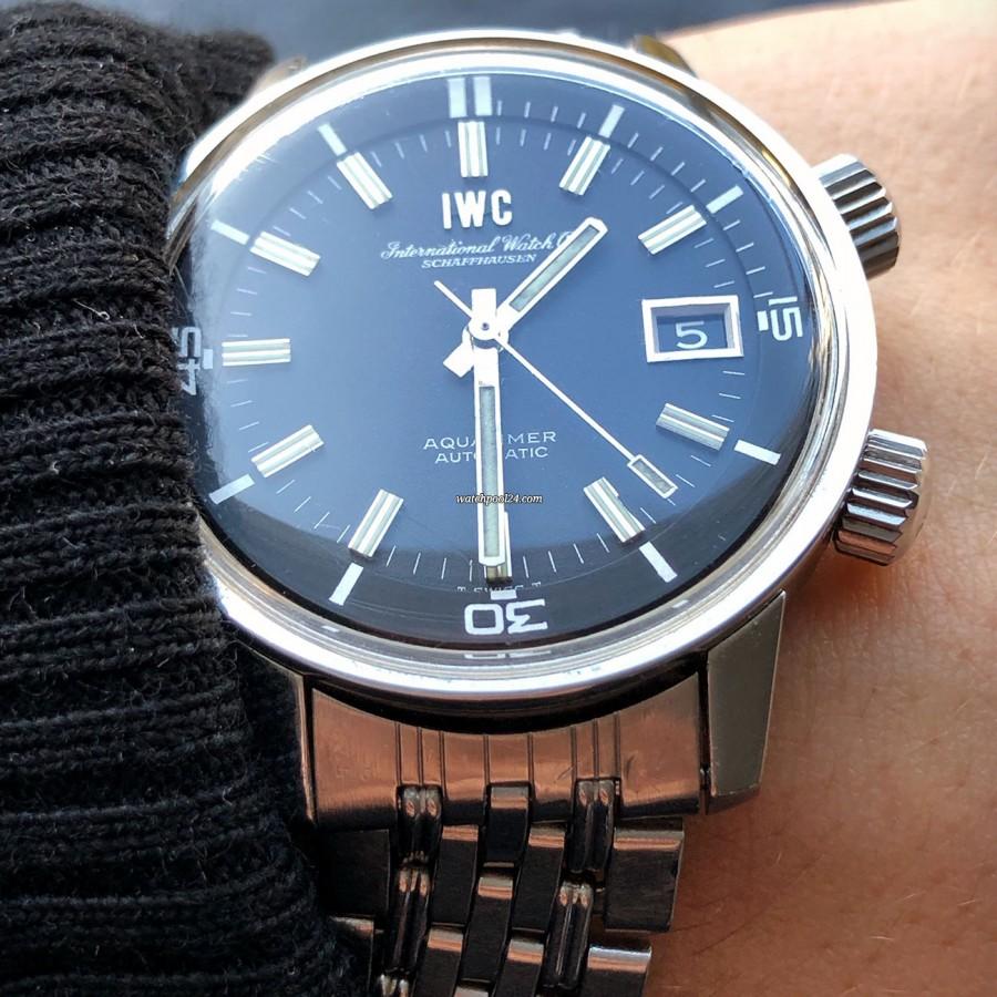 IWC Aquatimer 812 AD - beautiful view on the wrist