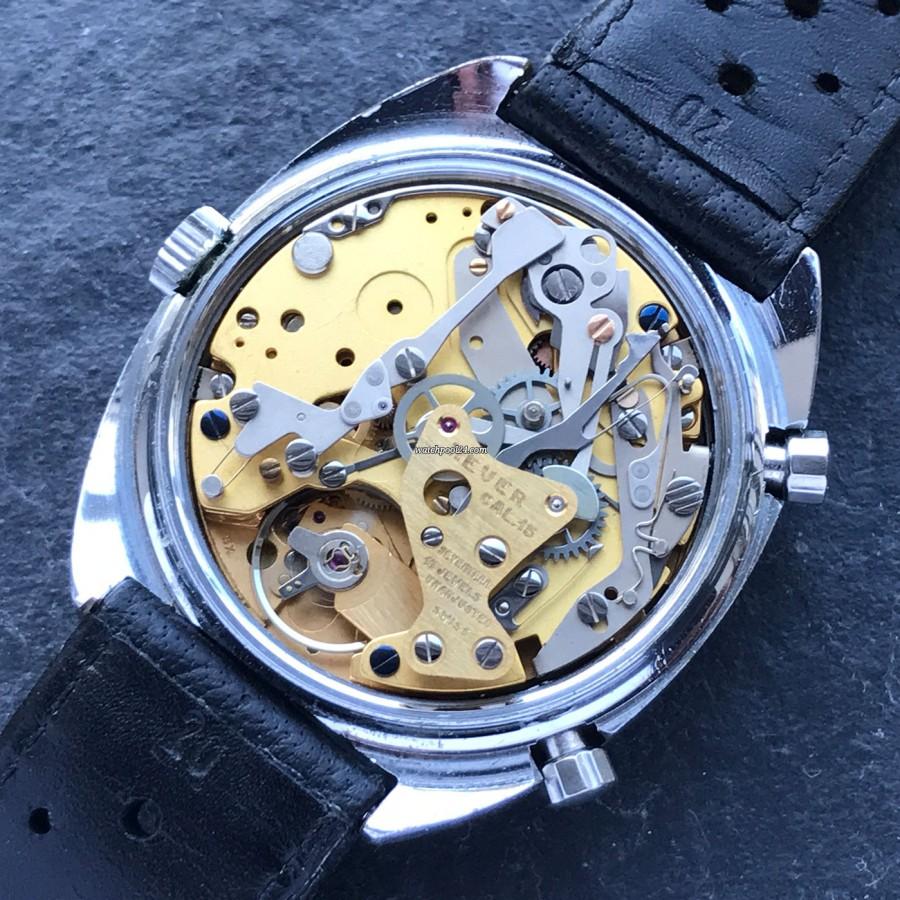 Heuer Monza 150.511 Chrome-Plated - Uhrwerk Kaliber 15