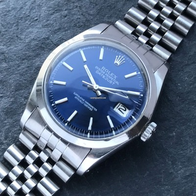 Rolex Datejust 1600 Blue Dial