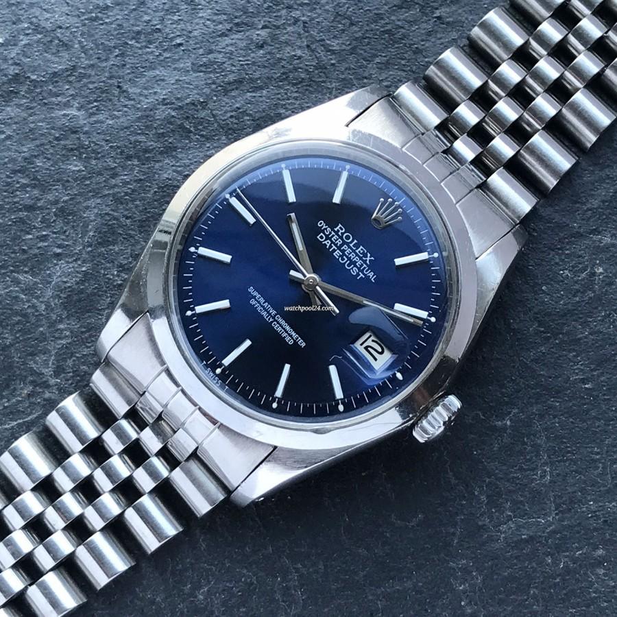 Rolex Datejust 1600 Blue Dial
