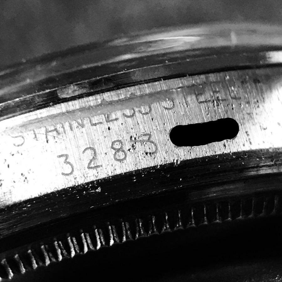 Rolex Datejust 1600 Blue Dial - Serial number 3.283.xxx