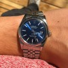 Rolex Datejust 1600 Blue Dial - elegant view on the wrist