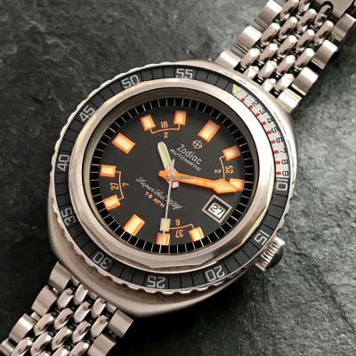 Zodiac Super Sea Wolf - Diver's Watch