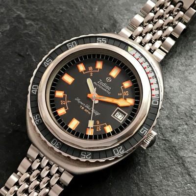 Zodiac Super Sea Wolf - Diver's Watch