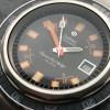 Zodiac Super Sea Wolf - Diver's Watch - intensive orangene Farbe auf dem perfekten schwarzen Zifferblatt