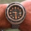 Zodiac Super Sea Wolf - Diver's Watch - wirkt sehr ästhetisch auf dem Handgelenk und ist angenehm zu tragen