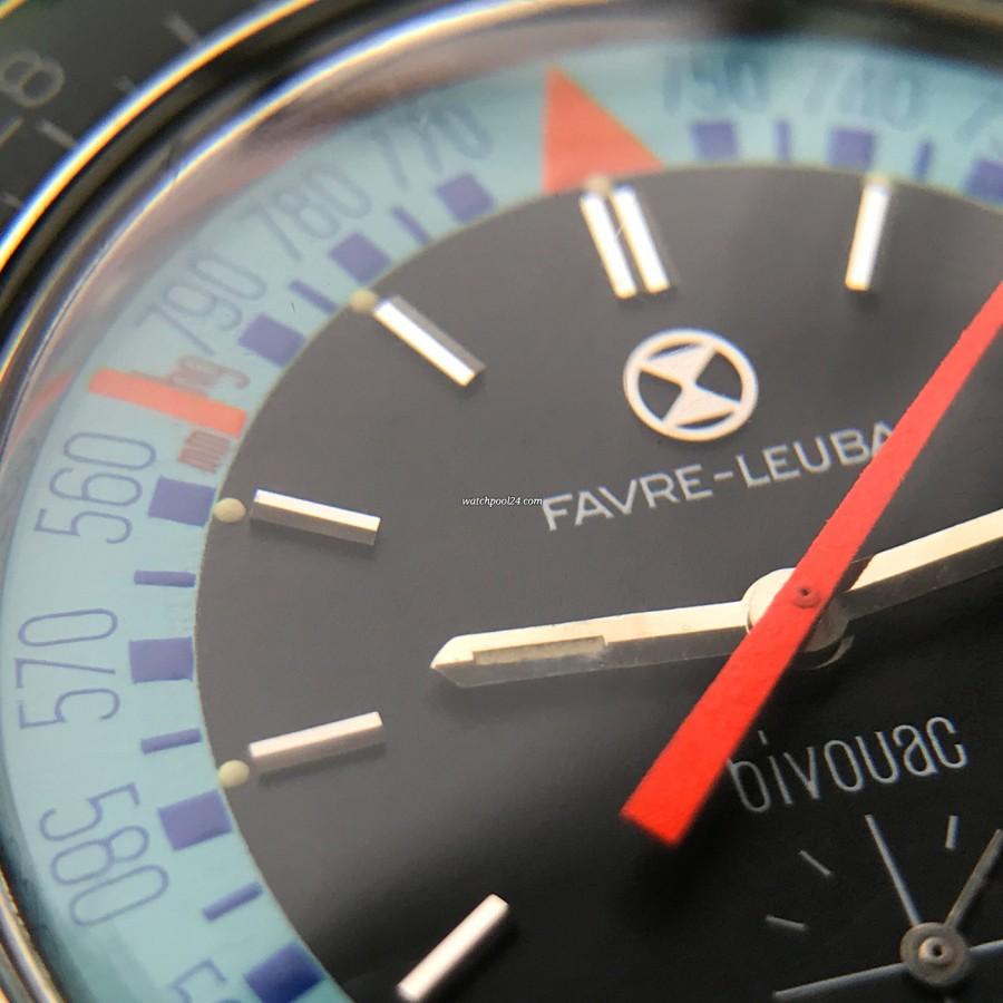 Favre Leuba Bivouac 53223 Blue - perfekte schwarze Innenfläche