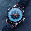 Favre Leuba Bivouac 53223 Blue - die weltweit erste Armbanduhr mit einem Barometer und einem Höhenmeter