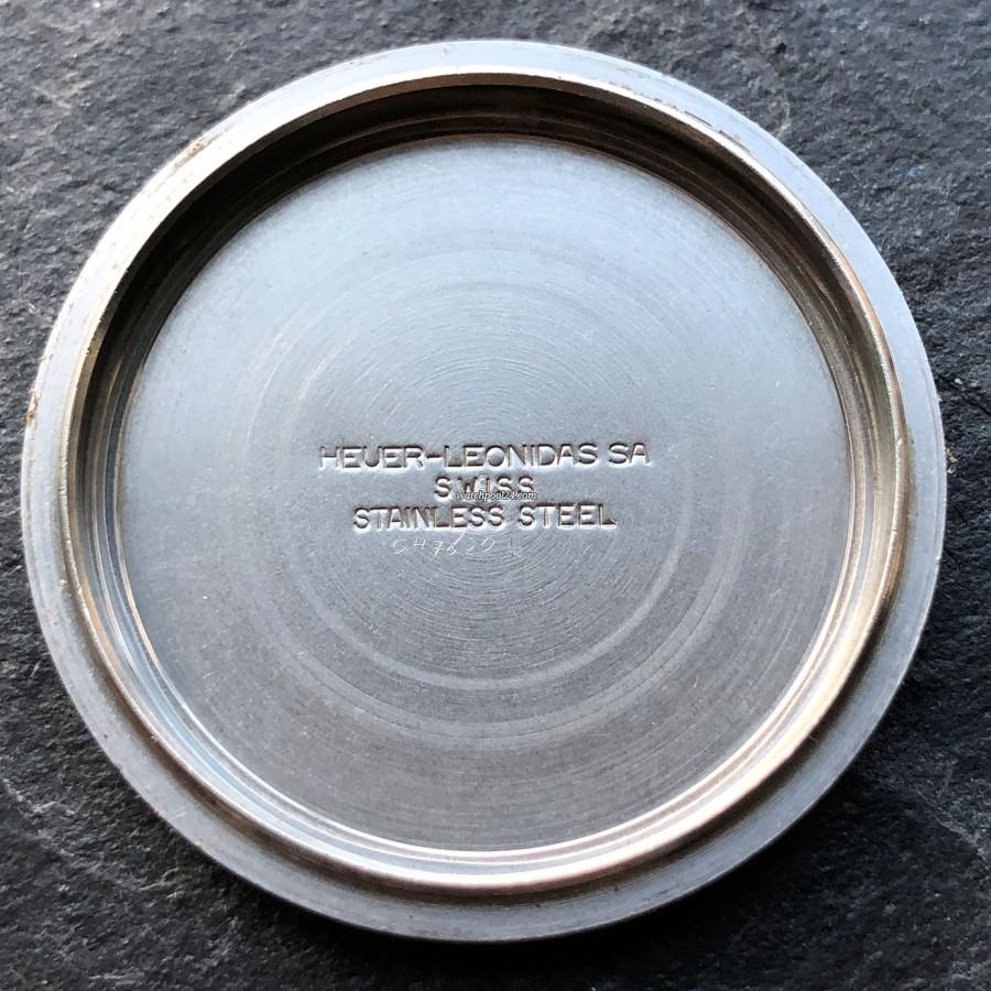 Heuer Daytona 110.203B - inside the case back