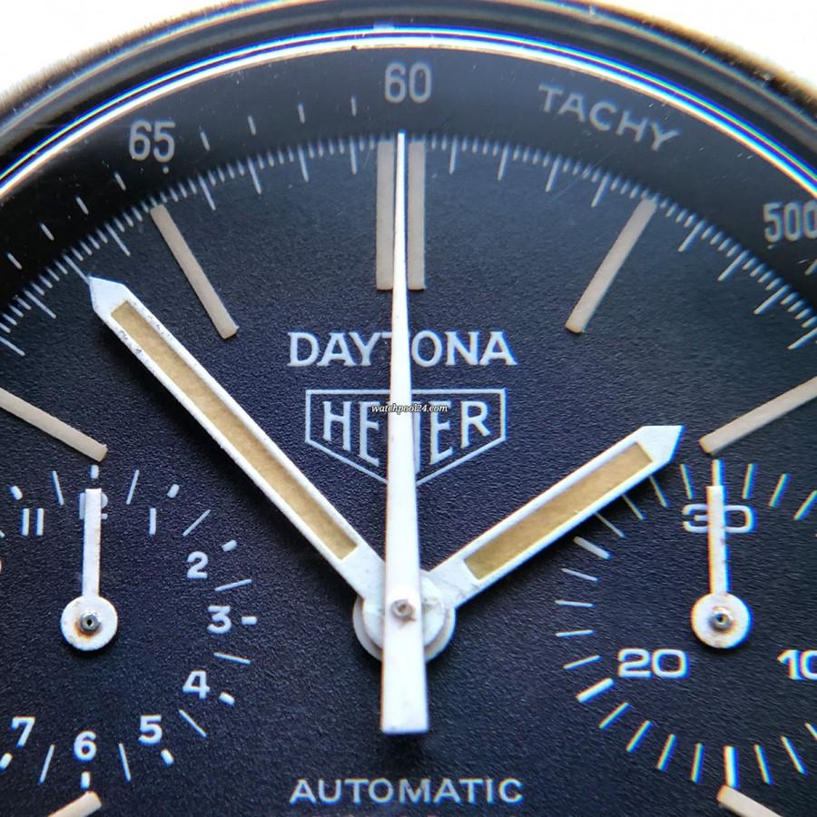 Heuer Daytona 110.203B - perfect matte surface of the dial