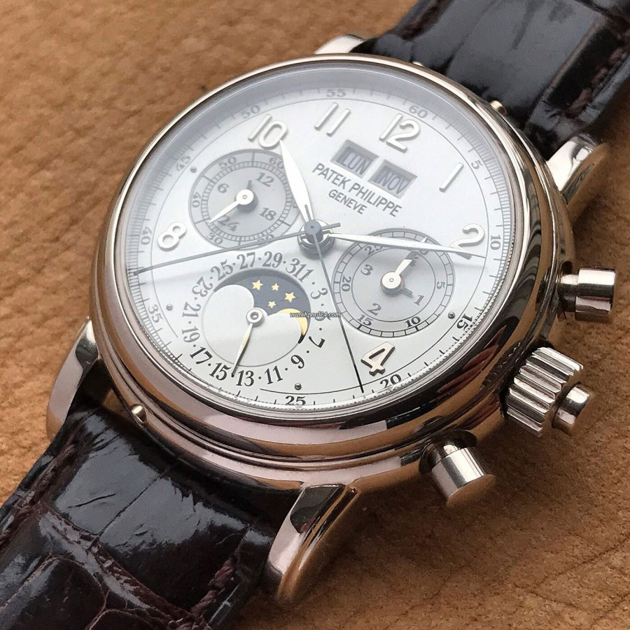 Patek Philippe Grand Complications 5004G - Grandes Complications - perpetual calendar and split second chronograph