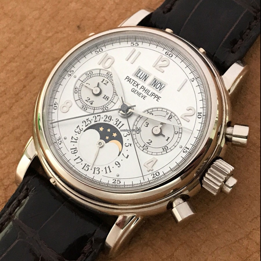 Patek Philippe Grand Complications 5004G - Weißgold-Gehäuse