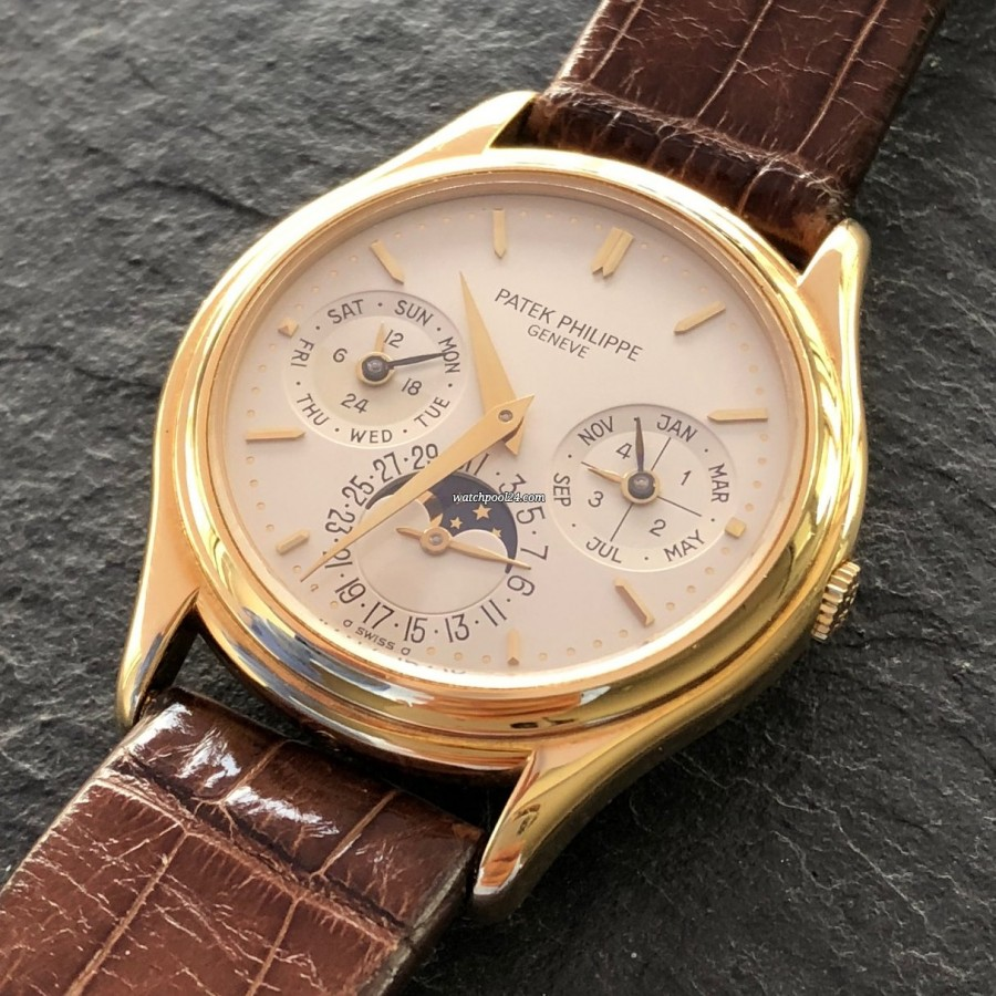 Patek Philippe Grand Complications 3940 Full Set - Grand Complications -  perpetual calendar and moonphase