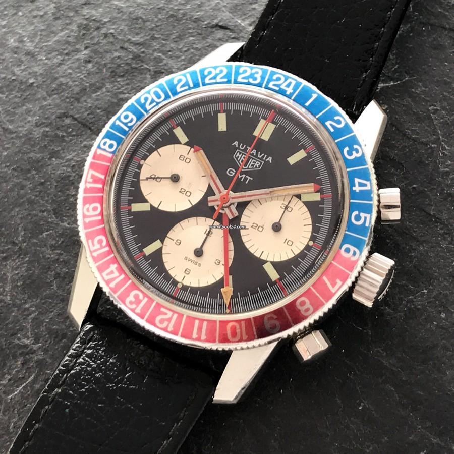 Heuer Autavia 2446C GMT MK4 - sportlicher Chronograph mit der GMT-Funktion