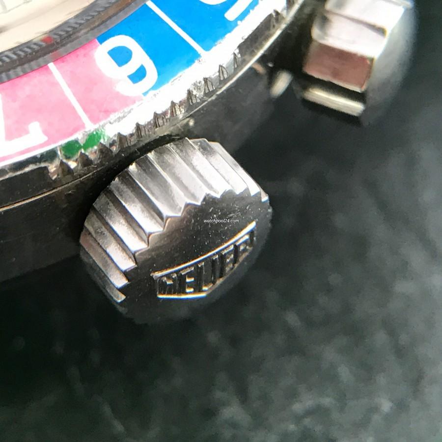 Heuer Autavia 2446C GMT MK4 - signed winding crown