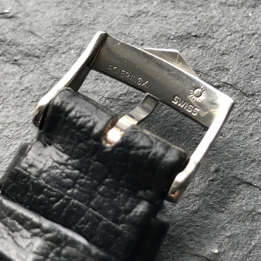 Heuer Autavia 2446C GMT MK4 - back side of the clasp