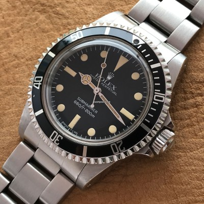 Rolex Submariner 5513 Punched Papers