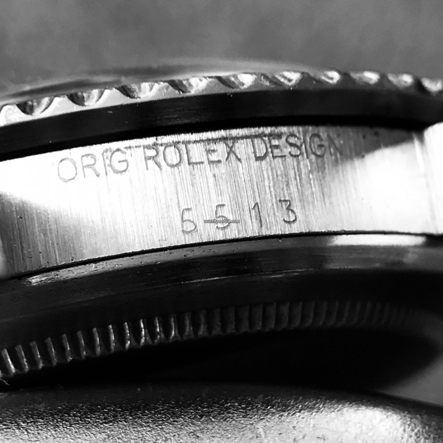 Rolex Submariner 5513 Punched Papers - Referenznummer 5513