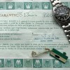 Rolex Submariner 5513 Punched Papers - punched papers and signed hang tag