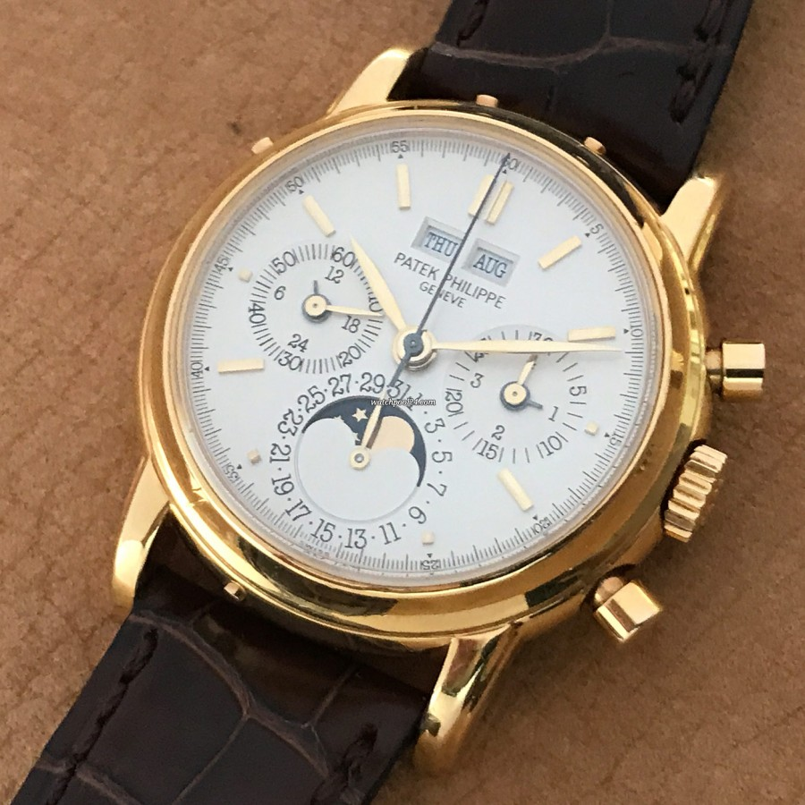 Patek Philippe Grand Complications 3970 Second Series - Full Set - perpetual calendar, moon phase and chronograph in one watch