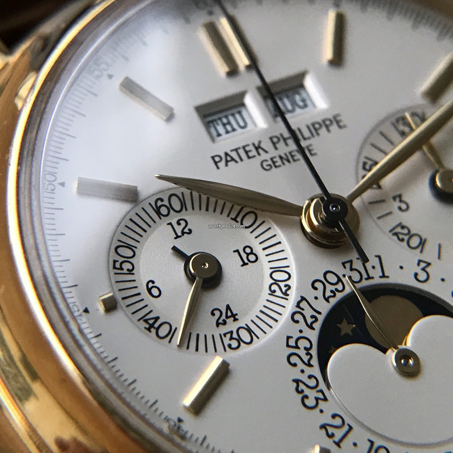 Patek Philippe Grand Complications 3970 Second Series - Full Set - 24-hour display and small second