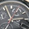 Tudor Monte-Carlo 94200 Big Block - 30-Minuten-Zähler des Chronographen und der orangene Chrono-Zeiger