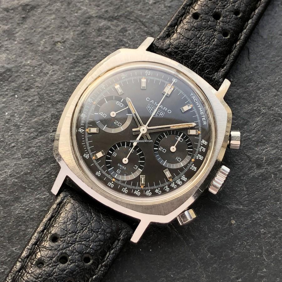 Heuer Camaro 7220NT - striking chronograph from 1968