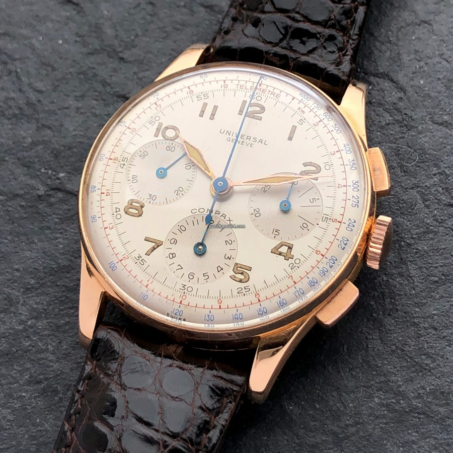 Universal Genève Compax 124107 F.A.B. - one of the most beautiful chronographs of all time
