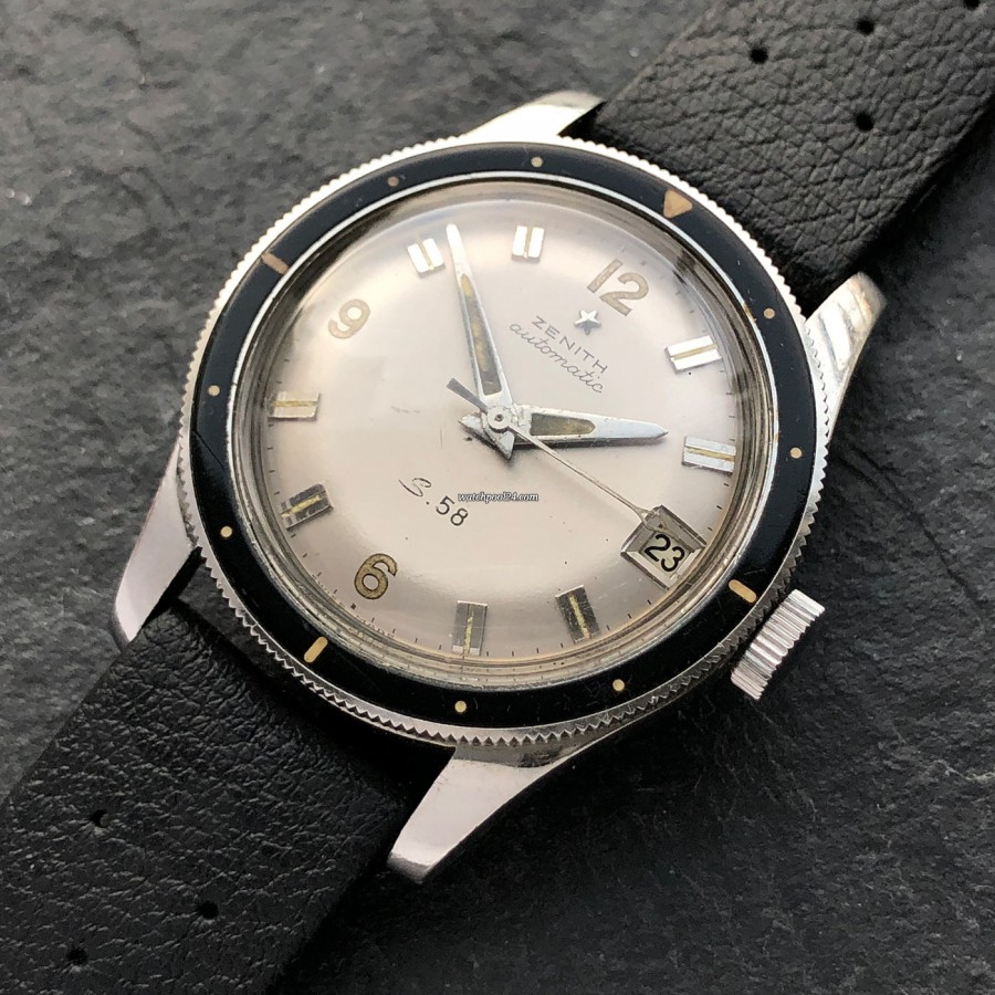 Zenith S58 Diver - the first diving watch by Zenith