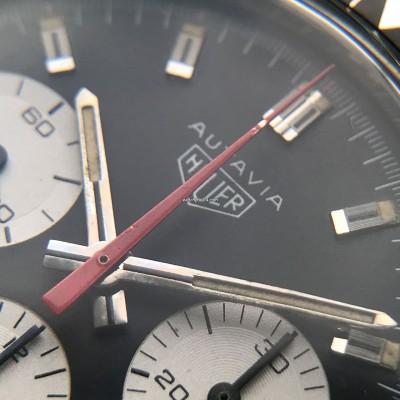 Heuer Autavia 2446C Gay Frères Bracelet