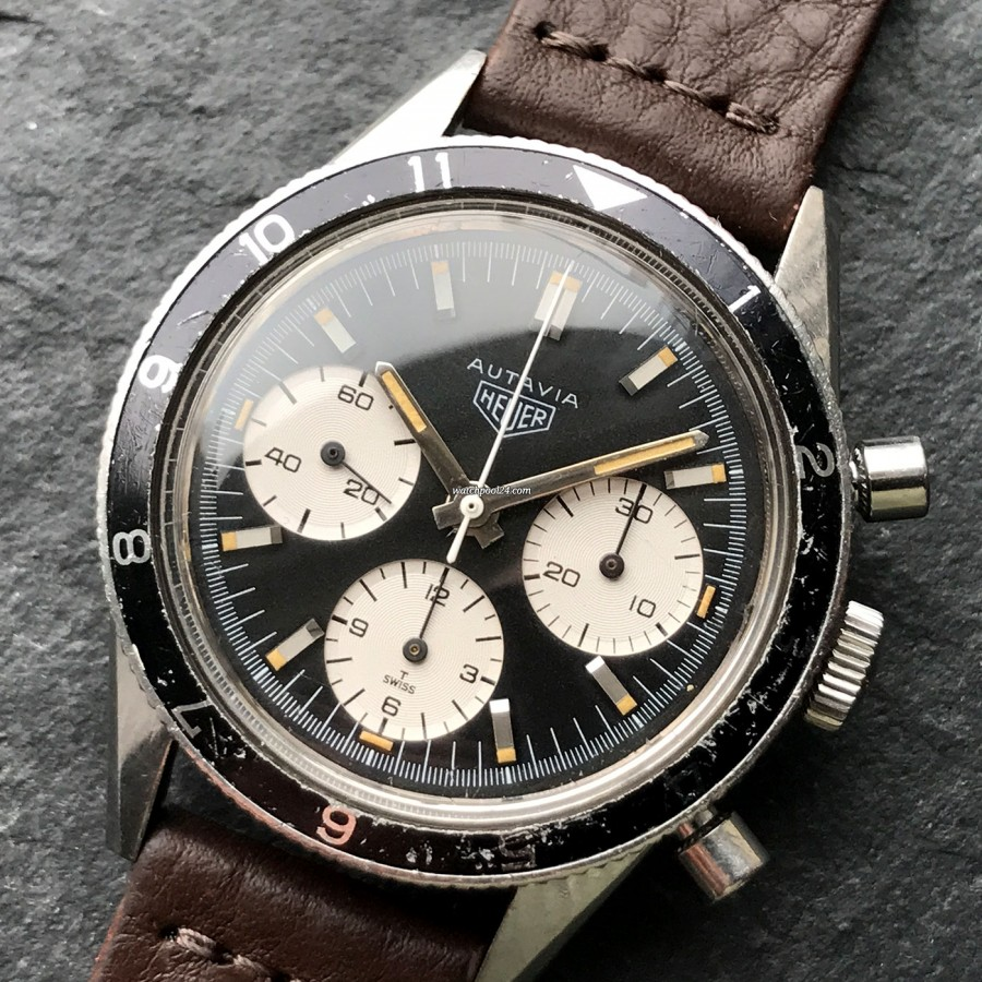 Heuer Autavia 2446 Jochen Rindt - racing chrono from the 1960s